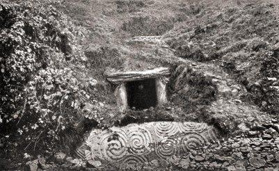 Newgrange about 1880