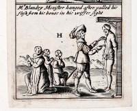 Hanging a Protestant Minster 1641